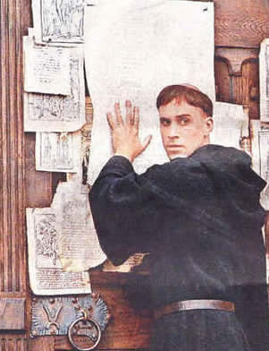 """what impact did the 95 theses have on society As a self-described """"enthusiastic and sincere papist,"""" luther thought the pope would certainly agree with if not appreciate his theses3 he did not intend their publication, and had no idea that their publication would, according to his own description six months after the fact, kindle such a fire """"that, to judge from the hue and cry, one would think the."""