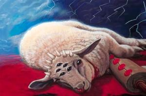 Praise the seven-eyed Lamb