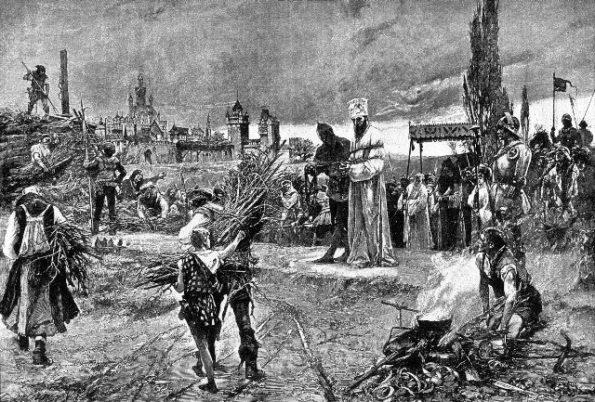 Burning of Jan Hus at the stake